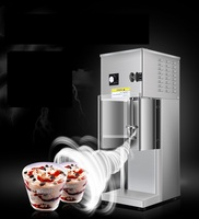 220V Commercial Electric Ice Cream Shaker Machine Ice Cream Blizzard Cyclone Maker Machine Ice Cream Mixer