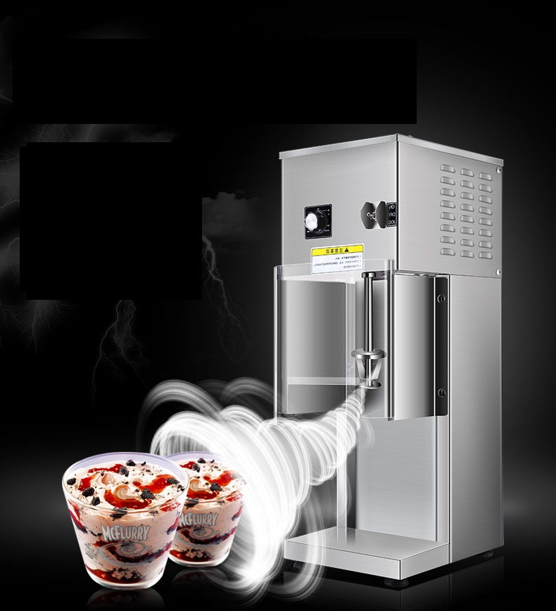 220V Commercial Electric Ice Cream Shaker Machine Ice Cream Blizzard Cyclone Maker Machine Ice Cream Mixer Special EU/AU/UK/US glantop 2l smoothie blender fruit juice mixer juicer high performance pro commercial glthsg2029