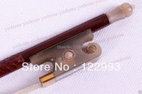 One Violin Bow Ox horn Frog Brazilwood Round Stick New 4/4 1 pcs #5