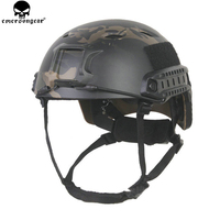 EMERSONGEAR FAST Helmet with Protective Pads BJ Type Emerson Helmet Airsoft Tactical Cycling Helmet Multicam Black EM5659