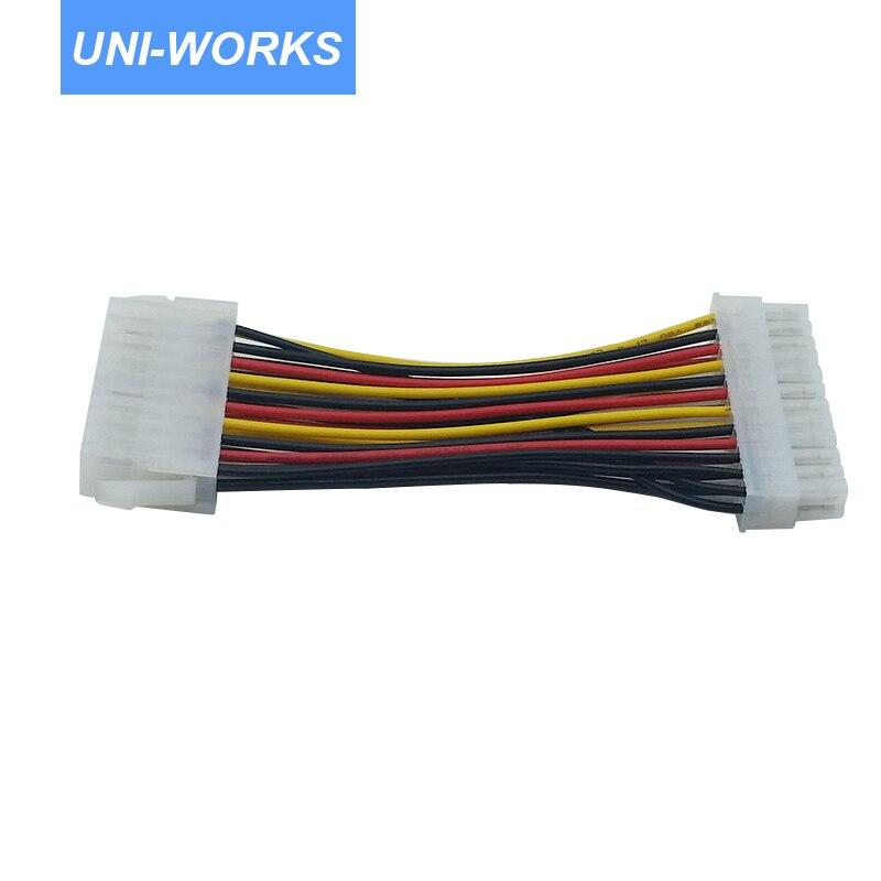 10 STKS / PARTIJ 20 Pin naar 24 Pin Voeding Vrouw-naar-man - Computer kabels en connectoren - Foto 2