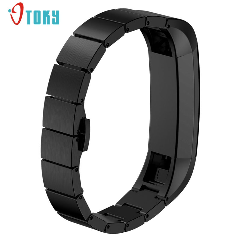New Arrive Stainless Steel Watch Band Wrist strap For Fitbit Alta Smart Watch Dropship #N02
