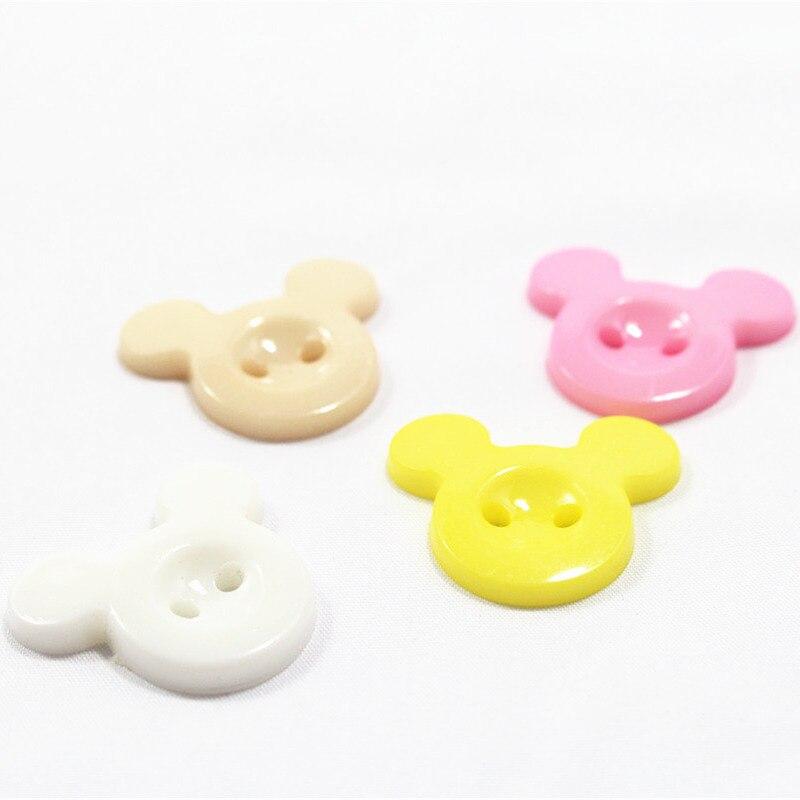 ୧ʕ ʔ୨Envío libre 50-200 unids 25mm mezcla el ratón botones de ...