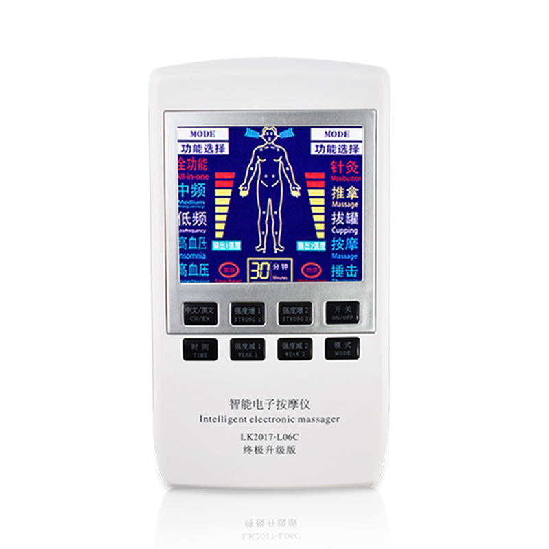 Full Body Massager Electrical Tens Therapy Pulse Acupuncture Digital Physiotherapy Machine EMS Muscle Nerve Stimulator Massager xft 320a electrical stimulator tens healthcare physiotherapy pains relax smoothing electrical massager physiotherapy knee pads