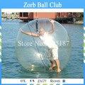 Transparente Bola Inflable Del Agua De Juegos en la Piscina de Agua, Bola Del Agua Inflable Grande