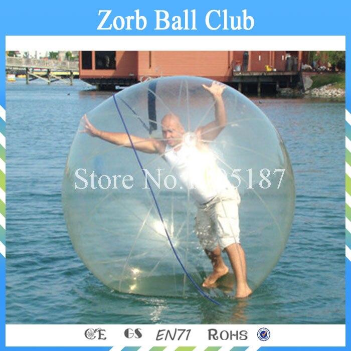 3transparente Bola Inflable Del Agua Para Piscina De Agua Juegos