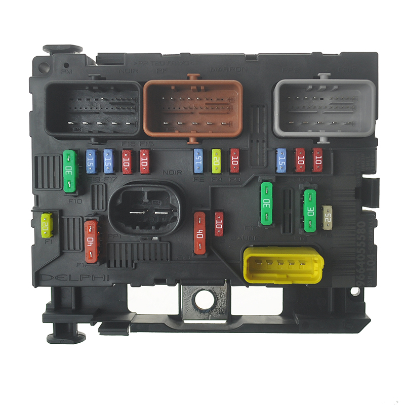 Brand New Genuine Fuse Box Unit Assembly BSM LO4 L11 6500FH 9664055780 9664055580 For Peugeot 307 fuse box unit wiring diagram byblank new fuse box cost at eliteediting.co