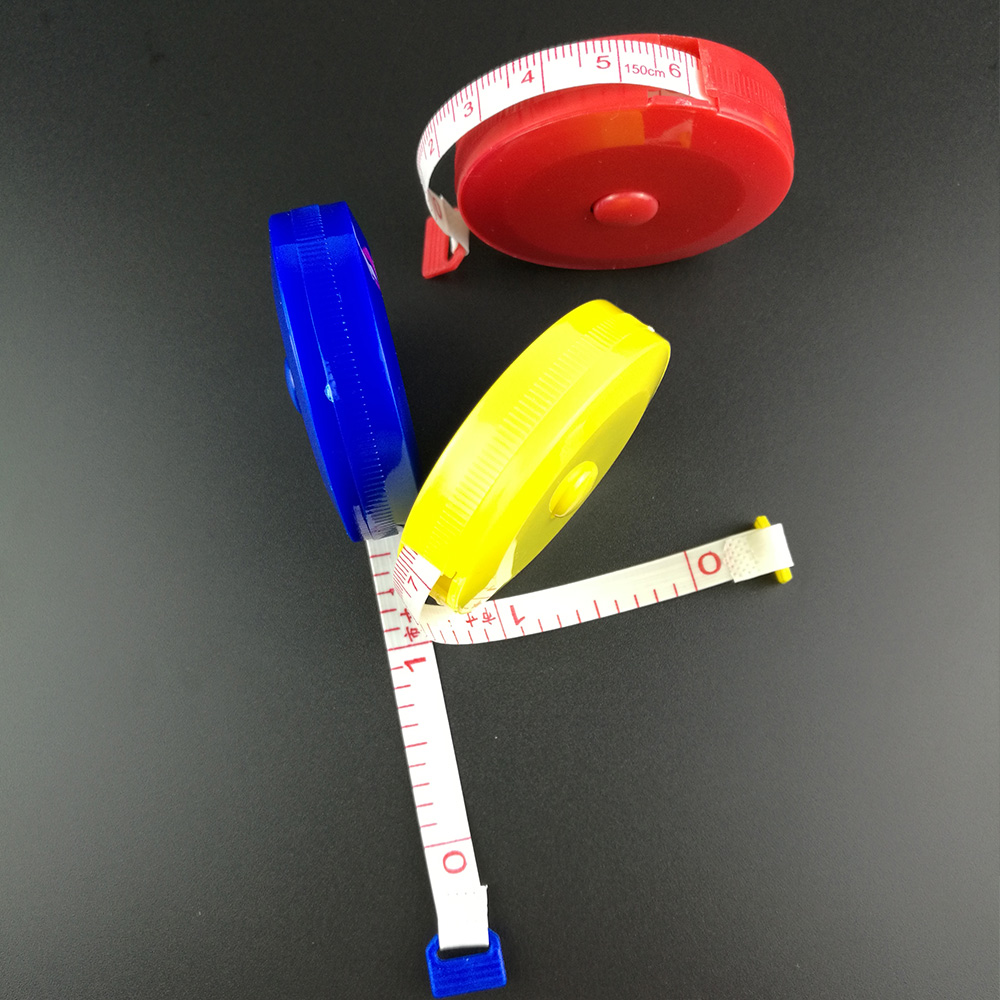 "150cm/60"" Plastic Tailor Ruler Tailor's Tape Measures Body Dieting Measuring Ruler Sewing Cloth Sewing Gauging Tool"
