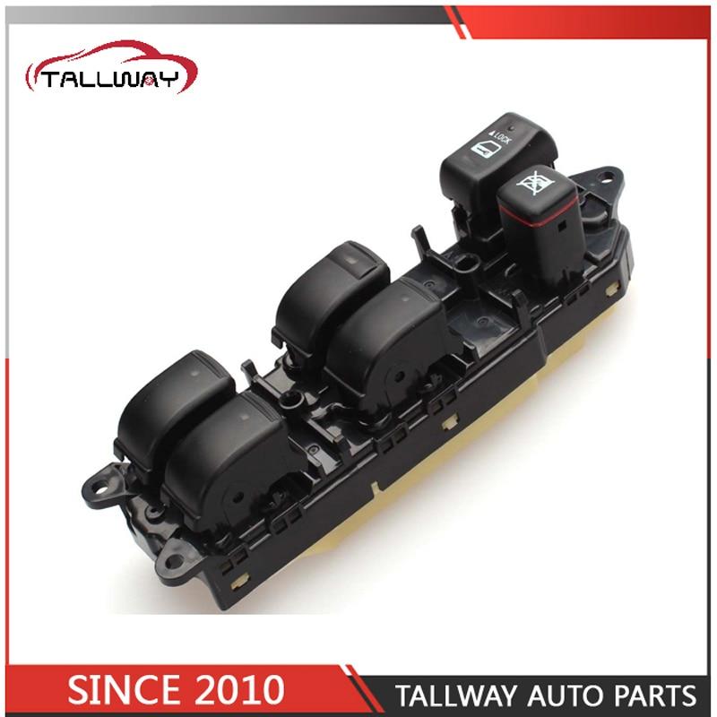 Free Shipping 84040 60091 8404060091 Master Power Window Regulator Switch For Toyota Land Cruiser For Lexus LX470 2002 2007