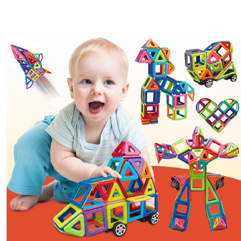 149 Pcs  Magic Building Block Magnetic Toys Preschool Skills Educational Game Construction Stacking Sets Block Brick brand new yuxin zhisheng huanglong high bright stickerless 9x9x9 speed magic cube puzzle game cubes educational toys for kids