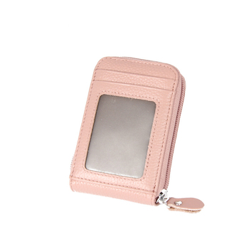 Women's Small Leather RFID Wallet Bags and Wallets Hot Promotions New Arrivals Women's Wallets Color: Pink Ships From: China