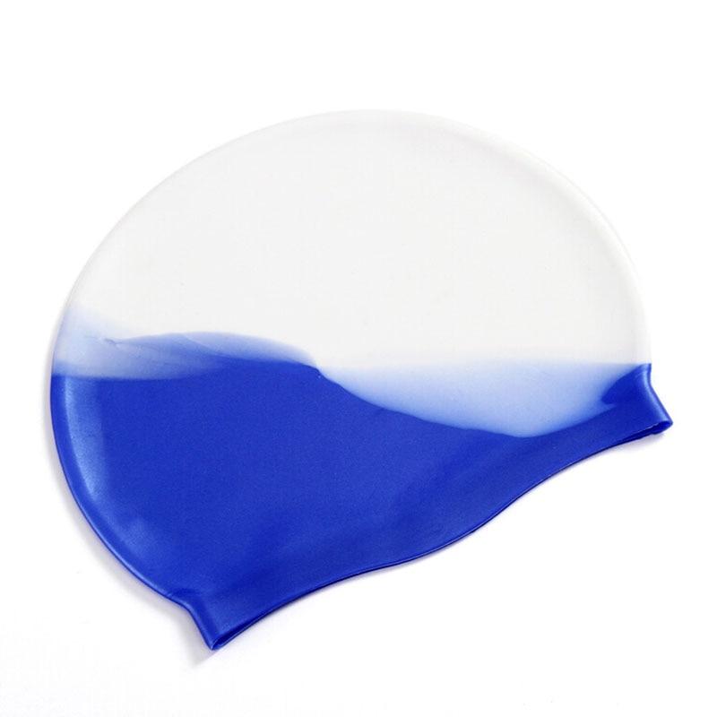 جودة سيليكون المطاط الأطفال قبعة السباحة الكبار الرجال النساء للماء السباحة قبعات قبعة السباحة الملحقات