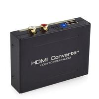 HDMI to HDMI Audio Splitter 1080P Optical SPDIF+RCA L/R Extractor Converter for PC DVD HD Camera
