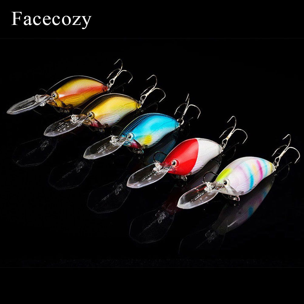 Image 2 - Facecozy Laser Coated Luminous Lure Artificial Minnow Bait Swimbait 1Pc 11cm Fishing Lures Highly Realistic Crankbait Two Hooks-in Fishing Lures from Sports & Entertainment