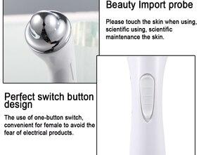 Image 4 - Darmowa wysyłka Eye wrinkle pen przyrząd kosmetyczny z eyebag remover masażer do oczu eye electro electroporation machine