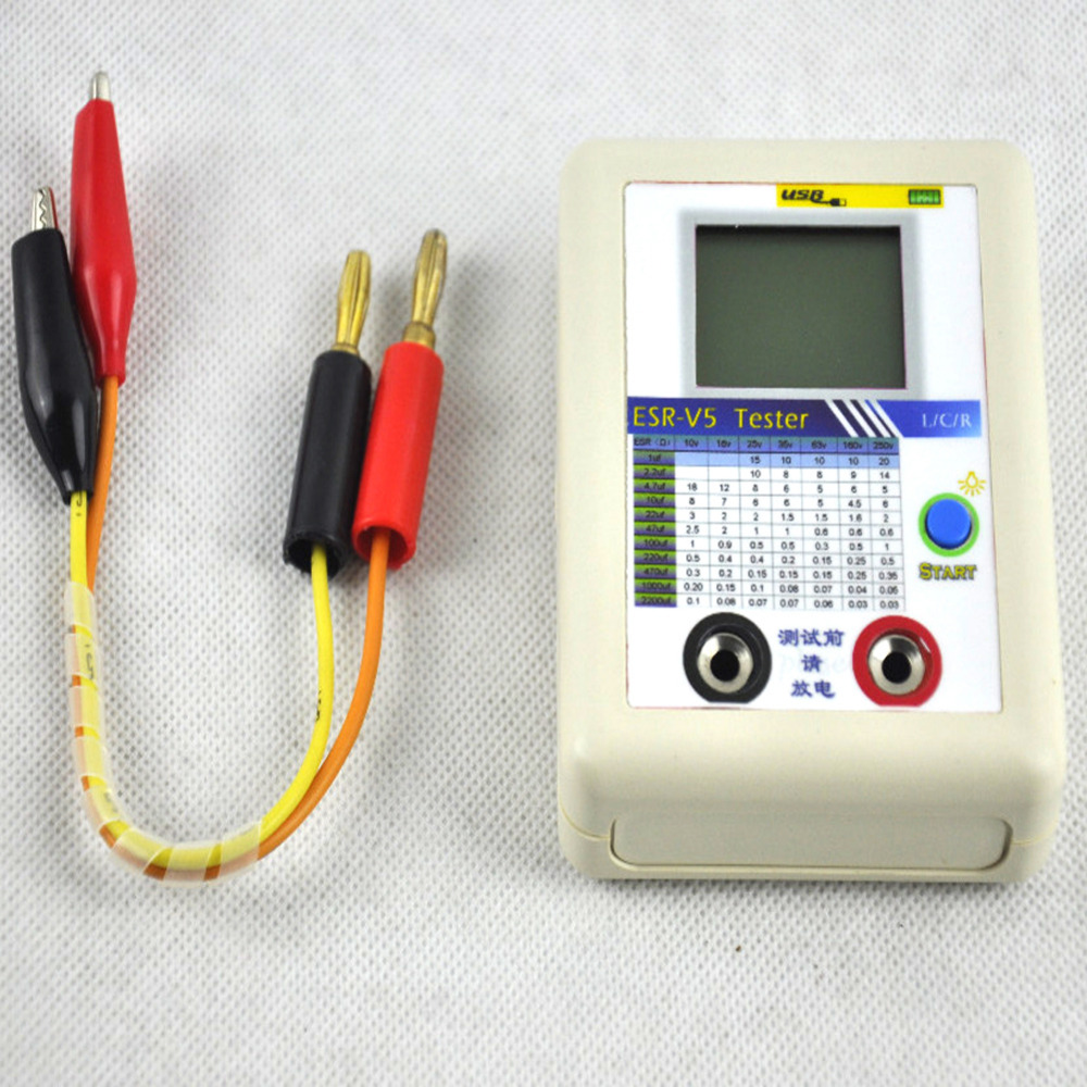 Buy Esr V5 Capacitor Tester Internal Resistance Digital Multi Meter Circuit Short Detector Test Lcd Digtital Capacitance In From Reliable