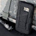 Caso armadura à prova de choque capa para samsung s7 s6 edge plus s5 para samsung galaxy note 5/4/3 j5 j7/a510 silicone suporte do telefone casos