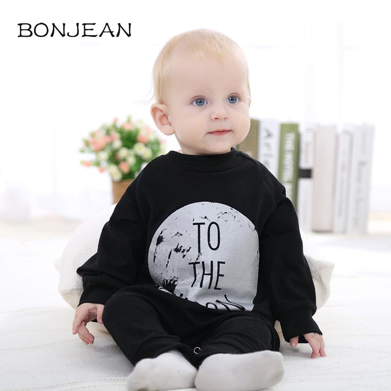 Autumn Winter Cotton Baby Clothes Flannel Baby Boys Clothes Letter Pattern Jumpsuits Infant Girl Rompers Baby Clothing cotton baby rompers set newborn clothes baby clothing boys girls cartoon jumpsuits long sleeve overalls coveralls autumn winter