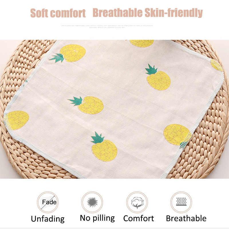 100% хлопок марли пончо квадратный Полотенца s новорожденных полотенце для лица ручной купальный Полотенца ребенок мультфильм нагрудники 30*30 см Набор платков