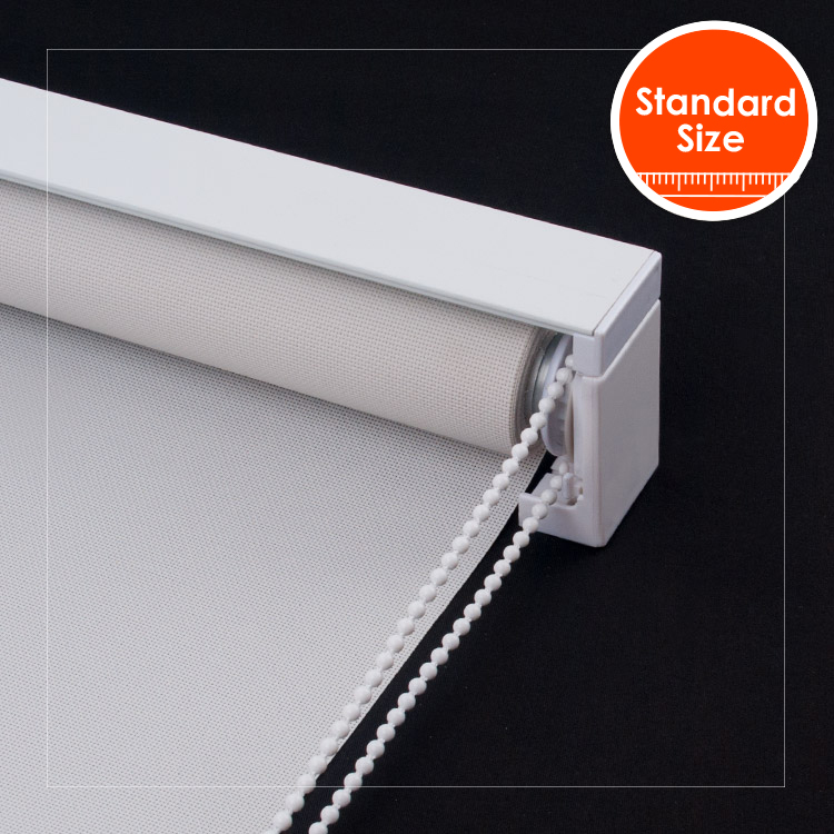SCHRLING Sunscreen Fabric Roller Blinds On Windows For living Room Bedroom need to drill Install 28mm alum tube with top front