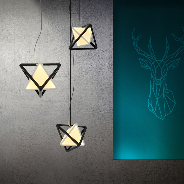 post modern led pendant chandelier loft industrial led chandelier rh aliexpress com Contemporary Dining Room Chandeliers Long LED Chandelier Dining Room