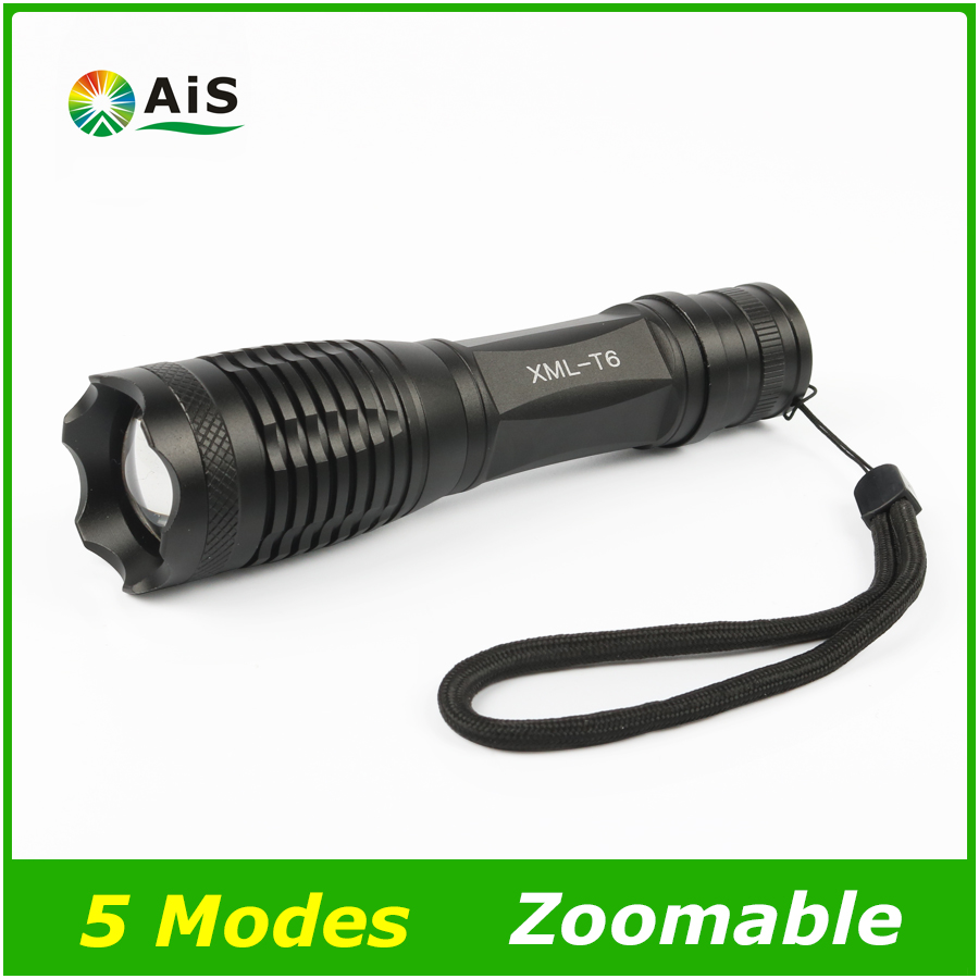 LED Tactical Flashlight 3800 Lumens CREE XM-L T6 5 modes Torch Waterproof Lamp Torch Hunting Flash Light Lantern For Camping led flashlight 3800 lumens cree xm l2x3 waterproof flashlight torch for night diving camping hunting fishing zk93