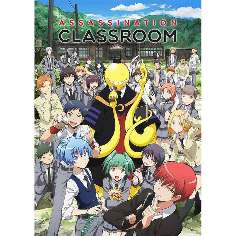 Anime Assassination Classroom Gecoat Papier A3 Poster