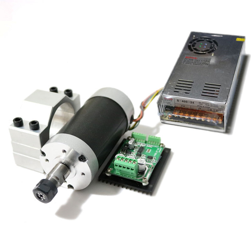 500w er11 12000rpm brushless dc spindle motor mach3 driver for Brushless dc motor suppliers