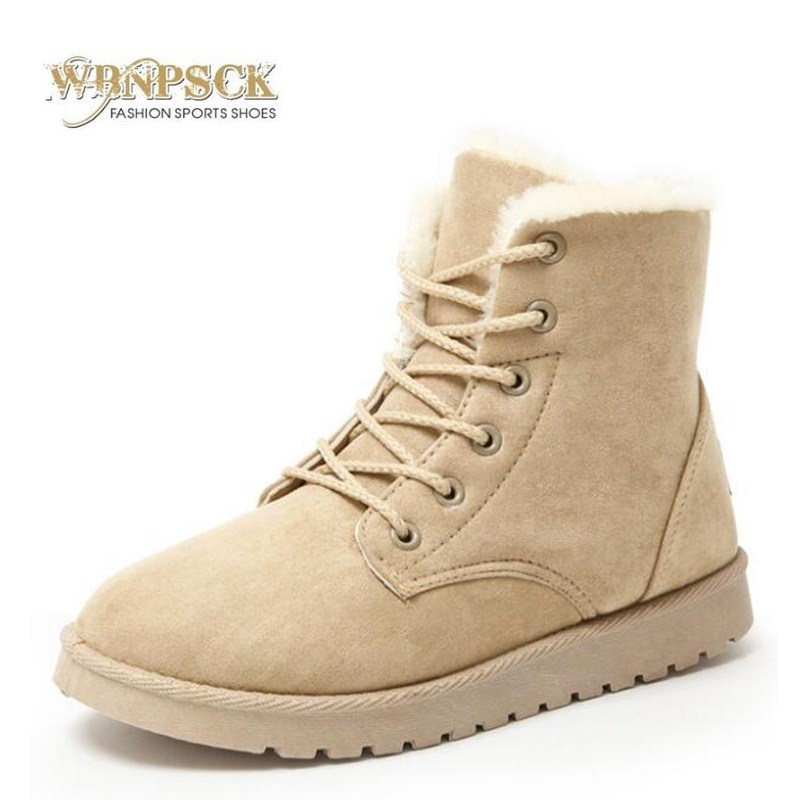 Women Boots Warm Winter Boots Female Fashion Women Shoes Faux Suede Ankle Boots For Women Botas Mujer Plush Insole Snow Boots цена