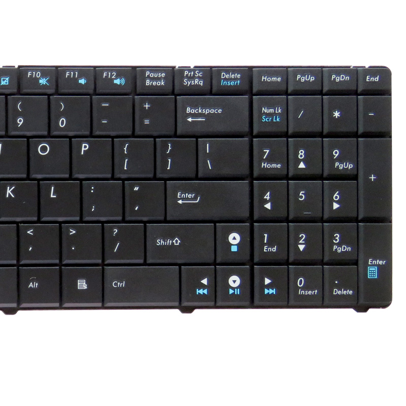 Image 3 - GZEELE NEW English US laptop Keyboard for ASUS X5E X5EAC X5EAE X5R X5RE X70 X70A X70AB X70AC K50I K50ID K50IE K50IJ black-in Replacement Keyboards from Computer & Office on