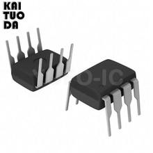 จัดส่งฟรี 10 pcs DIP IC 8pins UA741CN UA741CP UA741 OP Amp LM741 741 TI Original DIP 8