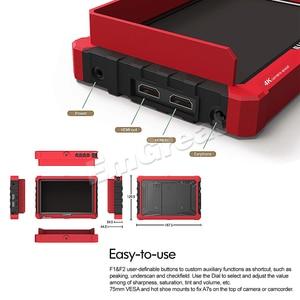 Image 4 - Lilliput A7s 7 인치 1920x1200 HD IPS 스크린 500cd/m2 카메라 필드 모니터 DSLR 미러리스 카메라 용 4K HDMI 입력 출력 비디오