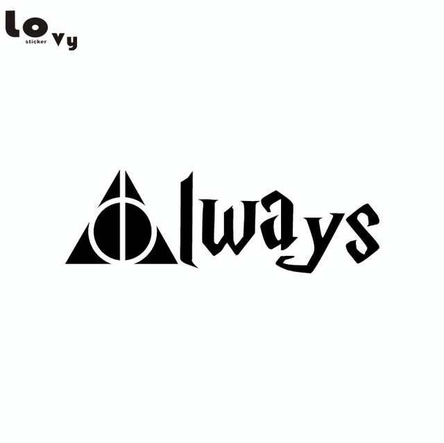 Classic Movie Harry Potter Car Stciker Deathly Hallows