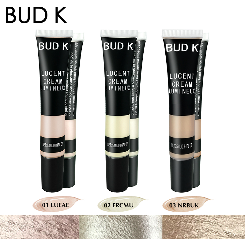 BUD K Iluminador Highlighter Shading Makeup Party Liquid Highlighter Face Shimmer Body Glow Highlighter Liquid Foundation in Bronzers Highlighters from Beauty Health