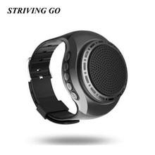 цена на 10pcs/lot U6 Wireless Wristband Bass Bluetooth Speaker Smart Watch Music Player Call Playing FM Radio Self-timer PK B20 B90