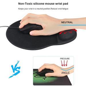 Image 3 - RAKOON repose poignet ergonomique, avec Base antidérapante, pour tympiste de bureau ou PC portable, nouveau