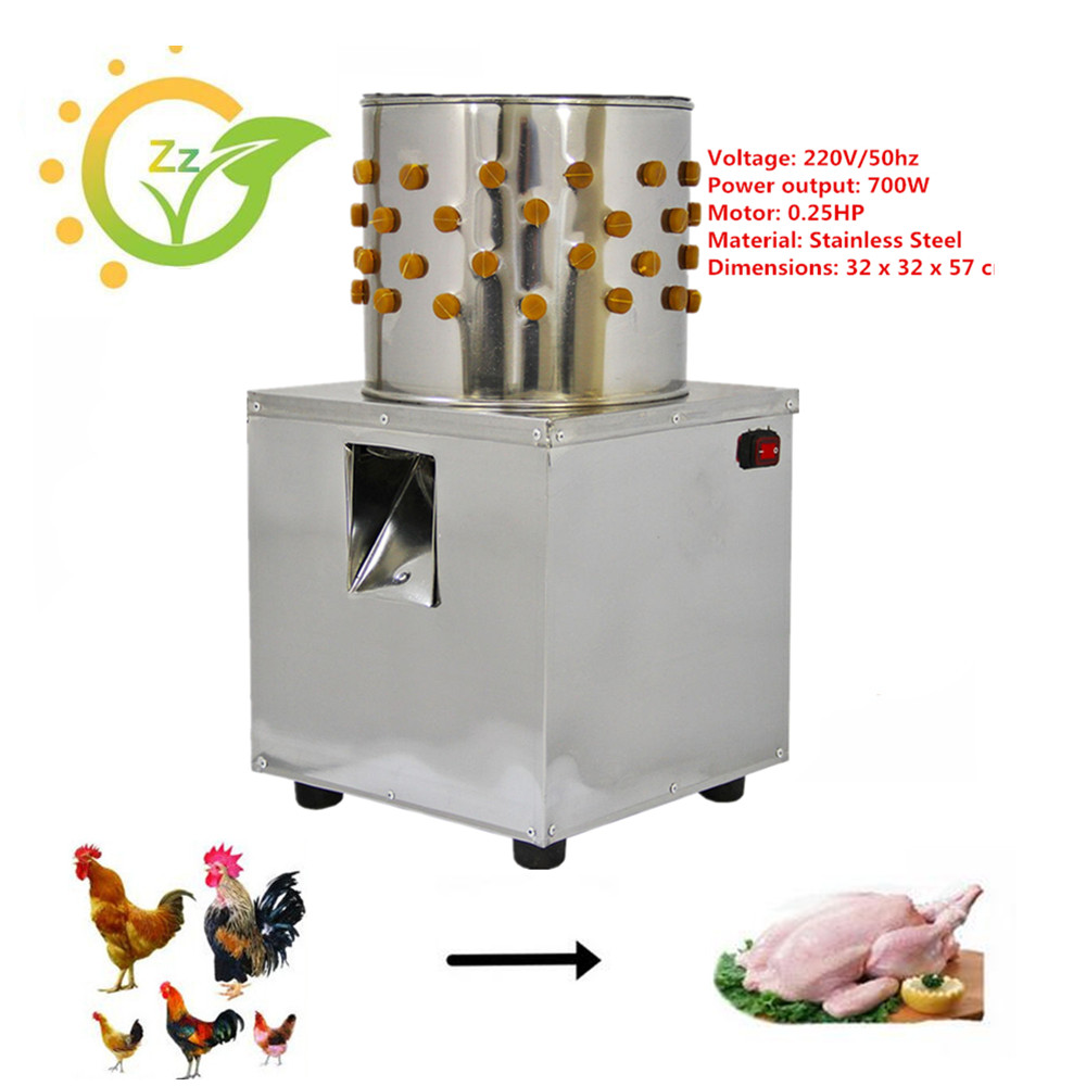 Stainless Steel Poultry Plucking Machine Duck Goose Quail Hair Removal Plucker Home Use Peeling Defeathering Tool цена и фото