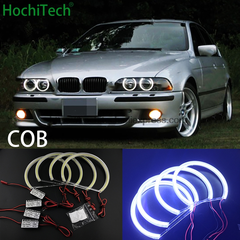 HochiTech for BMW 1995 2000 E39 5 series pre facelift car styling Ultra Bright White LED