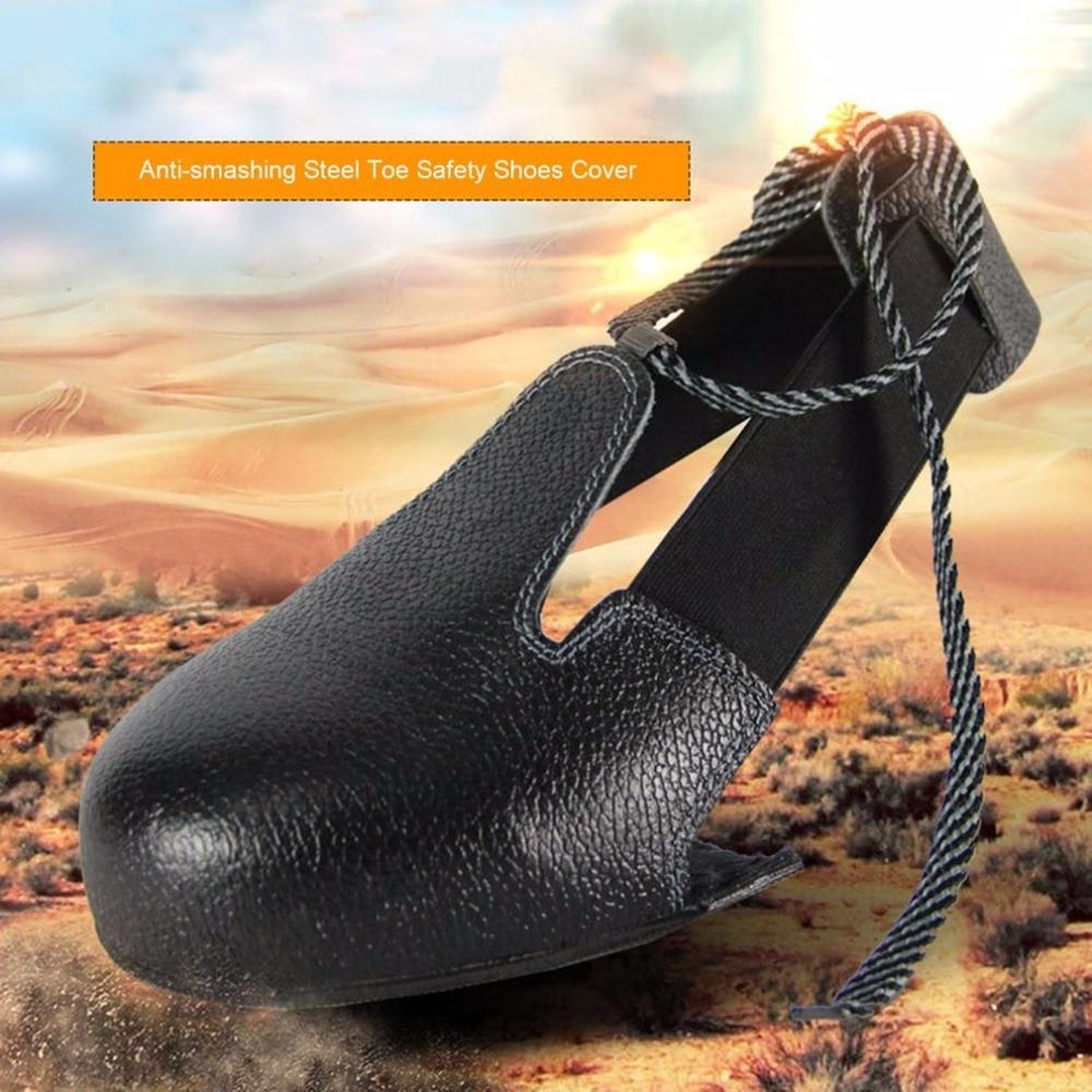 Anti-smashing Rutschfeste Unisex Stahl Kappe Sicherheit Schuhe Abdeckung Universelle Industrie Schutzhülle Überschuhe Sicherheit & Schutz Sicherheitsgurt