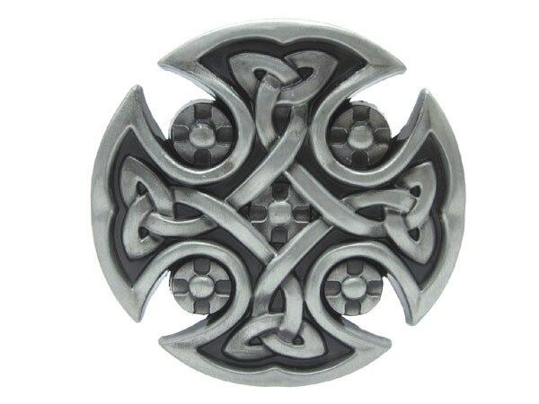 62a44c53d14 Fivela de cinto cruz de malta Keltic gótico legal original em ...
