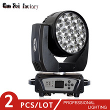 19X15W LED Lyre ZOOM Moving Head Light Beam Spot Wash for DJ Disco Nightclub