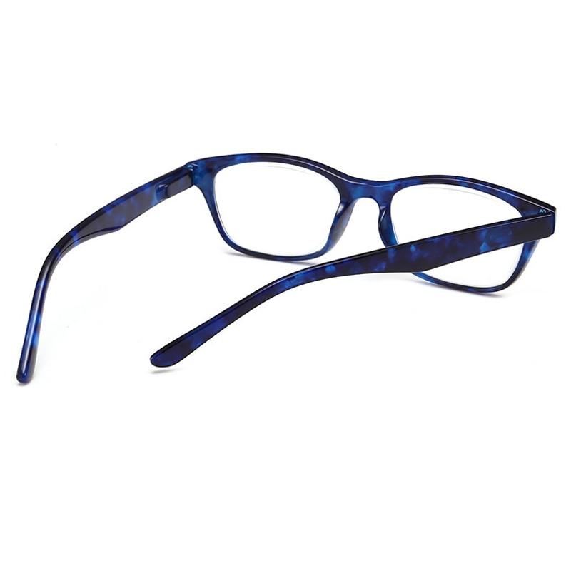 1.00 2017 Optical Clear Presbyopic Glasses Anti-skid Off Rubber Feet Reading Glasses Men Women Elderly Very Light Eyewear 4.00 Less Expensive