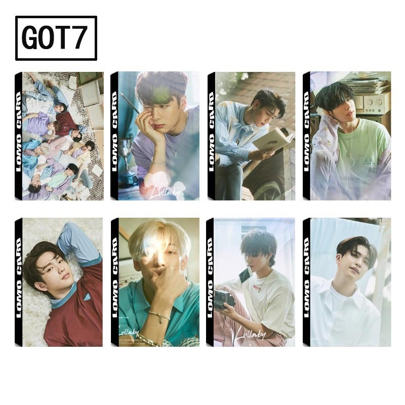 Calendars, Planners & Cards New 30pcs/set K-pop Got7 Mini Album Photo Cards Diy Lomo Card Postcard Kawaii Stationery Gift Office & School Supplies