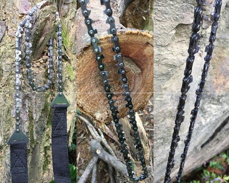 de sobrevivência selvagem, manganês aço inoxidável forte