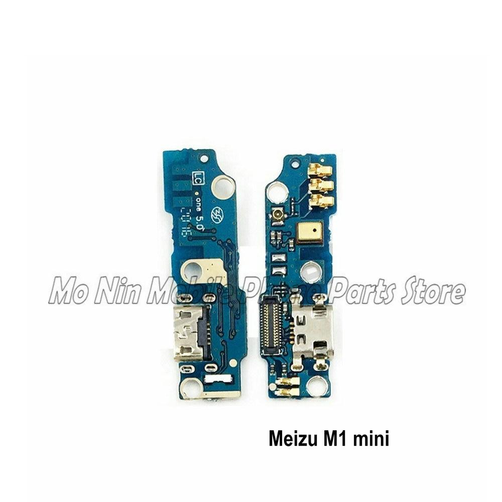 New Microphone Module+USB Charging Port Board Flex Cable Connector Parts For MEIZU M1 M2 M3 M3s M5 M5s M6 Mini Replacement