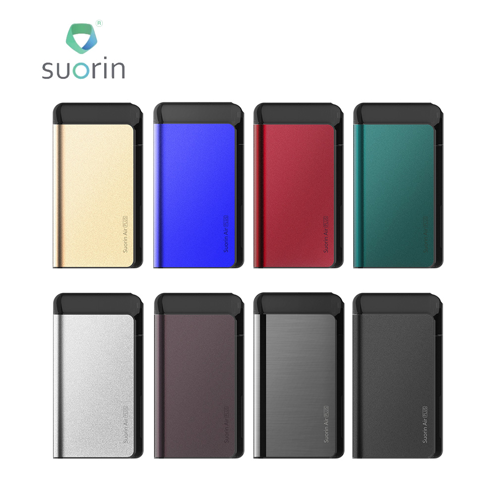 3/5pcs Original Suorin Air Plus Pod System Kit with 930mAh Built in Battery & 3.5ml Tank E cig Vape Kit VS Suorin Air/ Luxe Mod-in Electronic Cigarette Kits from Consumer Electronics    1