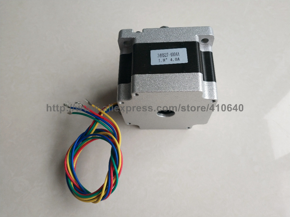 FREE SHIPPING NEMA34 Stepper Motor 34HS27 4004A 34HS4004S L 68 mm 4 A 2 8 N cm and 4 wire Better Material in Stepper Motor from Home Improvement