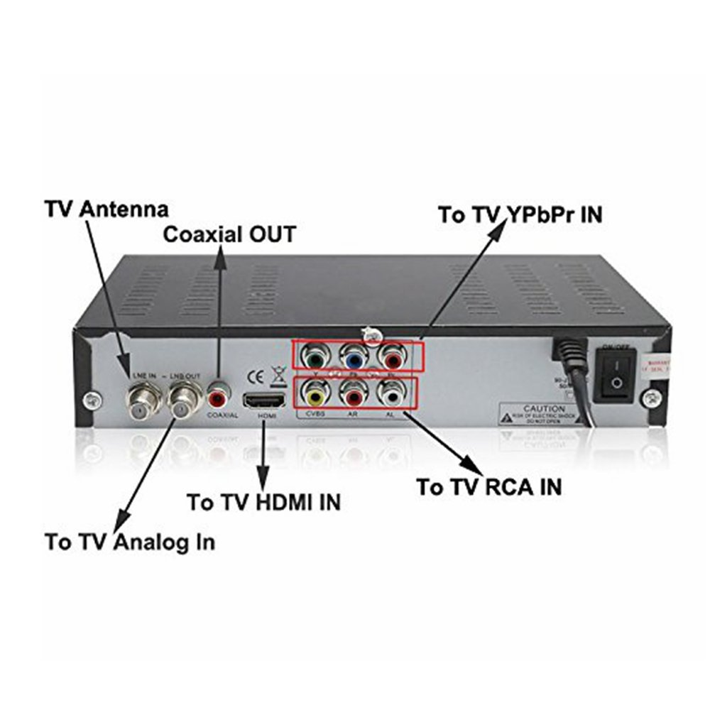 2016 Newest Digital Atsc Stb Tv Tuner Digital Tv Receiver