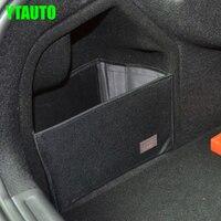 Rear Trunk Storage Box Cover Auto Car Storage Bag Cover For Citroen C5 2010 2014 Auto
