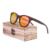 Óculos De Sol Dos Homens Óculos De Sol De Madeira de bambu Madeira Polarized óculos de Sol Óculos de Oculos de sol de Marca Designer Original-ZB-55